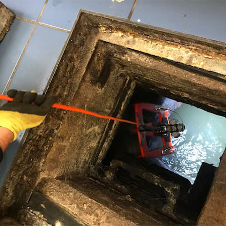 Floating CCTV surveys